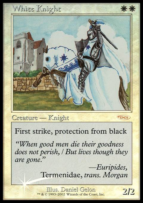 White Knight card from FNM Promos