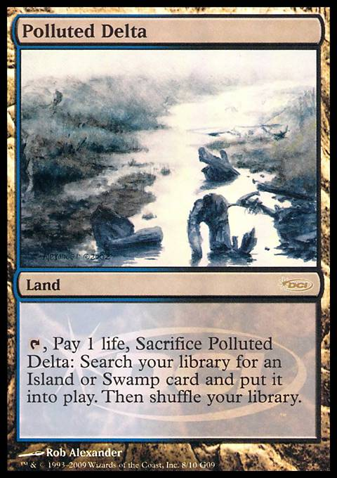 Polluted Delta card from Judge Promos
