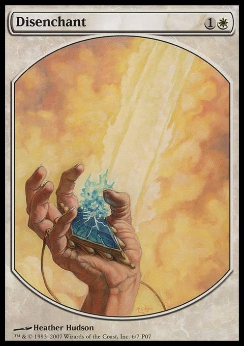 Disenchant card from Magic Player Rewards