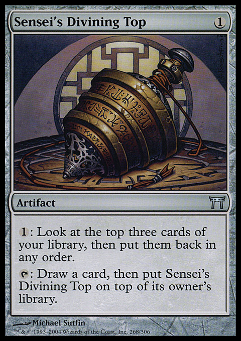 Sensei's Divining Top original card image