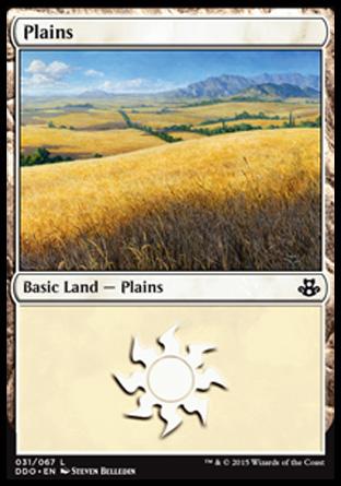 Plains (31) card from Duel Decks: Elspeth vs. Kiora