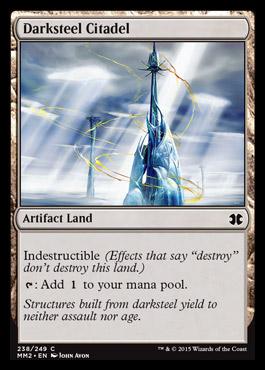Darksteel Citadel card from Modern Masters 2015 Edition