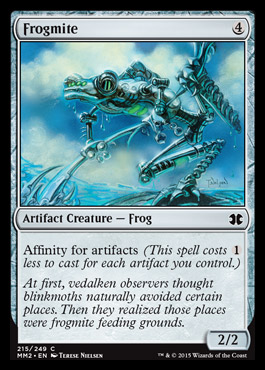 Frogmite card from Modern Masters 2015 Edition