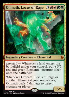 Omnath, Locus of Rage