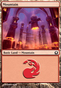 Mountain (265) card from Return to Ravnica
