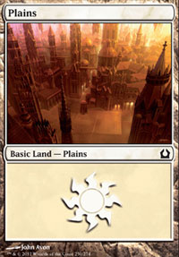Plains (250) card from Return to Ravnica