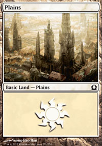 Plains (251) card from Return to Ravnica