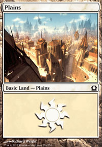 Plains (254) card from Return to Ravnica