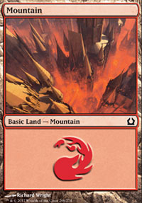Mountain (268) card from Return to Ravnica