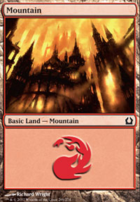 Mountain (269) card from Return to Ravnica