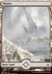 Wastes (183 Full Art)