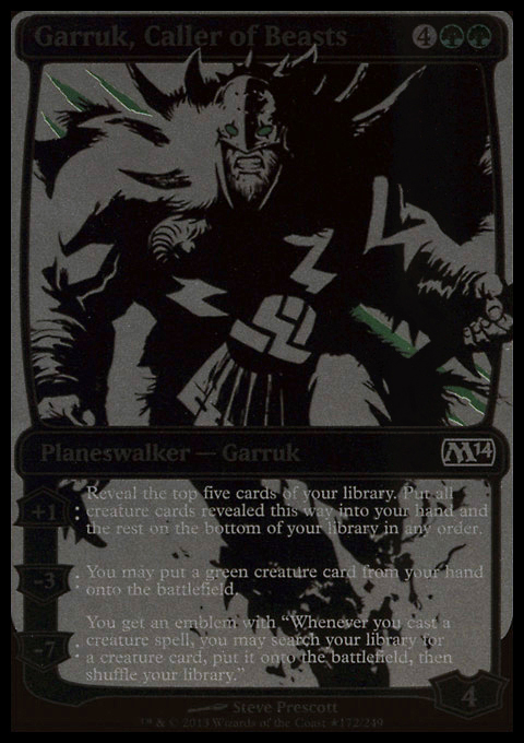 Garruk, Caller of Beasts (SDCC 2013 Exclusive) card from Media Promos