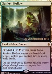 Sunken Hollow card from Prerelease Cards