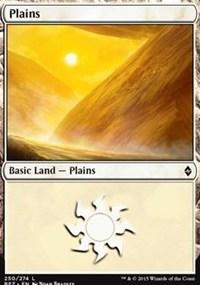Plains (250) card from Battle for Zendikar