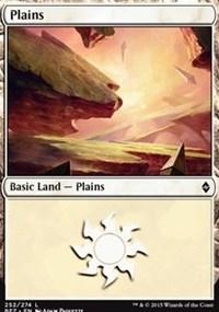 Plains (252) card from Battle for Zendikar