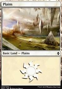 Plains (253) card from Battle for Zendikar