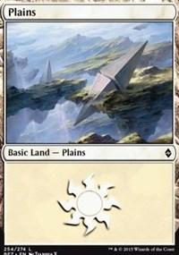 Plains (254) card from Battle for Zendikar