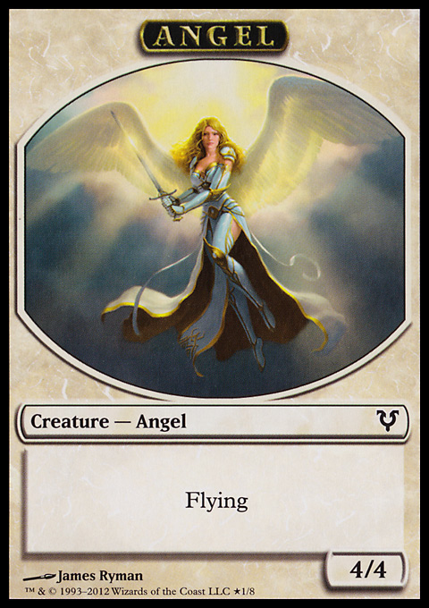 Angel // Demon Double-sided Token