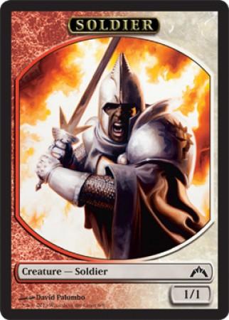 Soldier Token (Red/White)