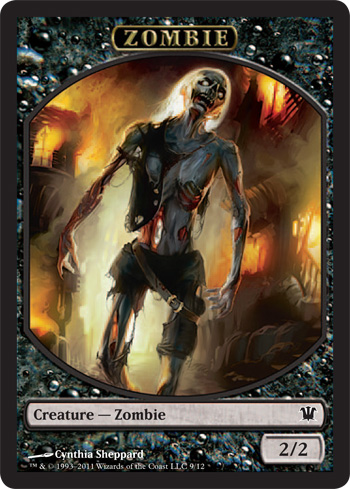Zombie Token (Sheppard) card from Innistrad