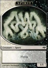 Spirit Token (Black/White)