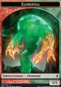 Elemental Token (5/5)