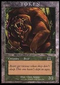 Bear Token (Onslaught)
