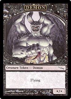 Demon Token (Mirrodin)