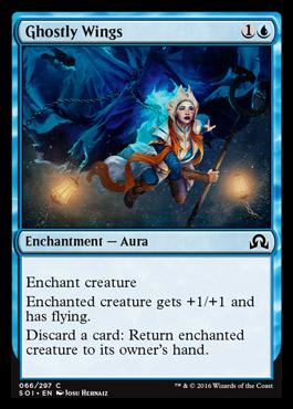 Ghostly Wings original card image