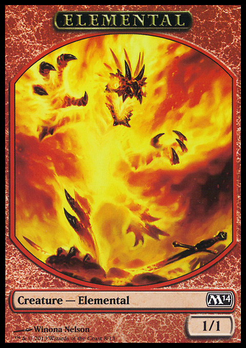 Elemental Token (Nelson) original card image