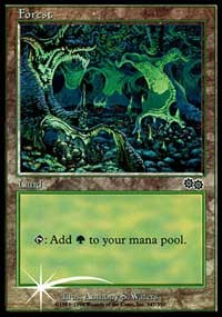 Forest (1999) card from Arena Promos