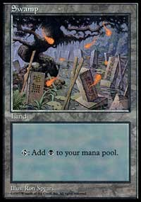 Swamp - Red Pack (Spears)