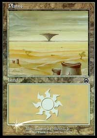 Plains (2000) card from Arena Promos
