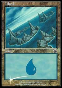 Island (2000) card from Arena Promos