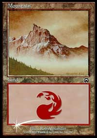 Mountain (2000) card from Arena Promos