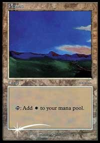 Plains (2001) card from Arena Promos