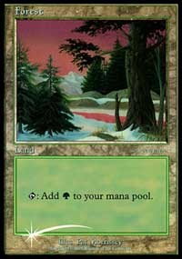 Forest (2001 Ice Age) card from Arena Promos