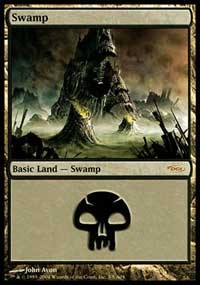 Swamp (2004) card from Arena Promos