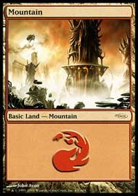 Mountain (2004) card from Arena Promos