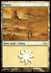 Plains (2005) card from Arena Promos