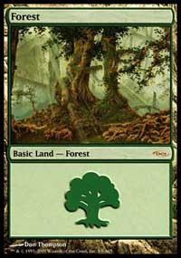 Forest (2005) card from Arena Promos