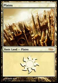 Plains (2006) card from Arena Promos