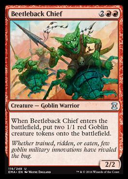 Beetleback Chief card from Eternal Masters