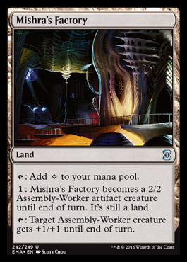 Mishra's Factory card from Eternal Masters
