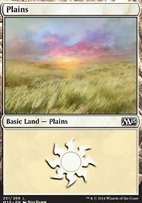 Plains (251) card from Magic 2015 Core Set