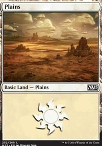 Plains (252) card from Magic 2015 Core Set