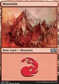 Mountain (264) card from Magic 2015 Core Set