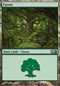 Forest (246) card from Magic 2013