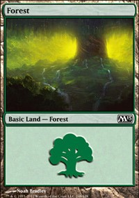 Forest (248) card from Magic 2013