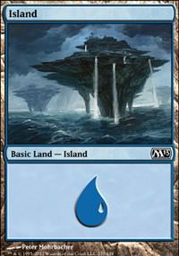 Island (237) card from Magic 2013